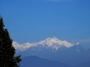 Mt. Kanchenjungha from Pabong