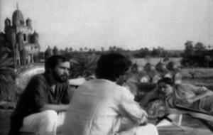 Film Akaler Sandhaney at Somrabazar