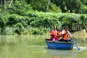 Boating at Babur Vani