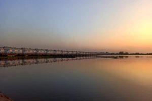 Barrage near Pratappur