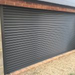 Solid shutter powder coated black