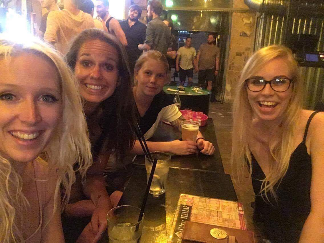Some of the girls I met in Budapest, Laura and Beki, Summer 2016