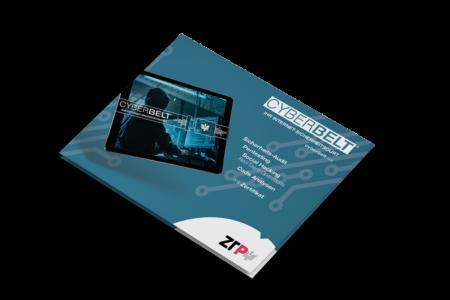 ztp.digital - leistungen - cyberbelt - mockup flyer