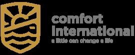 comfort international logo and tagline