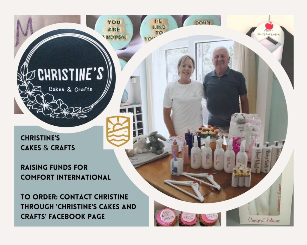 Christine's cakes and crafts.