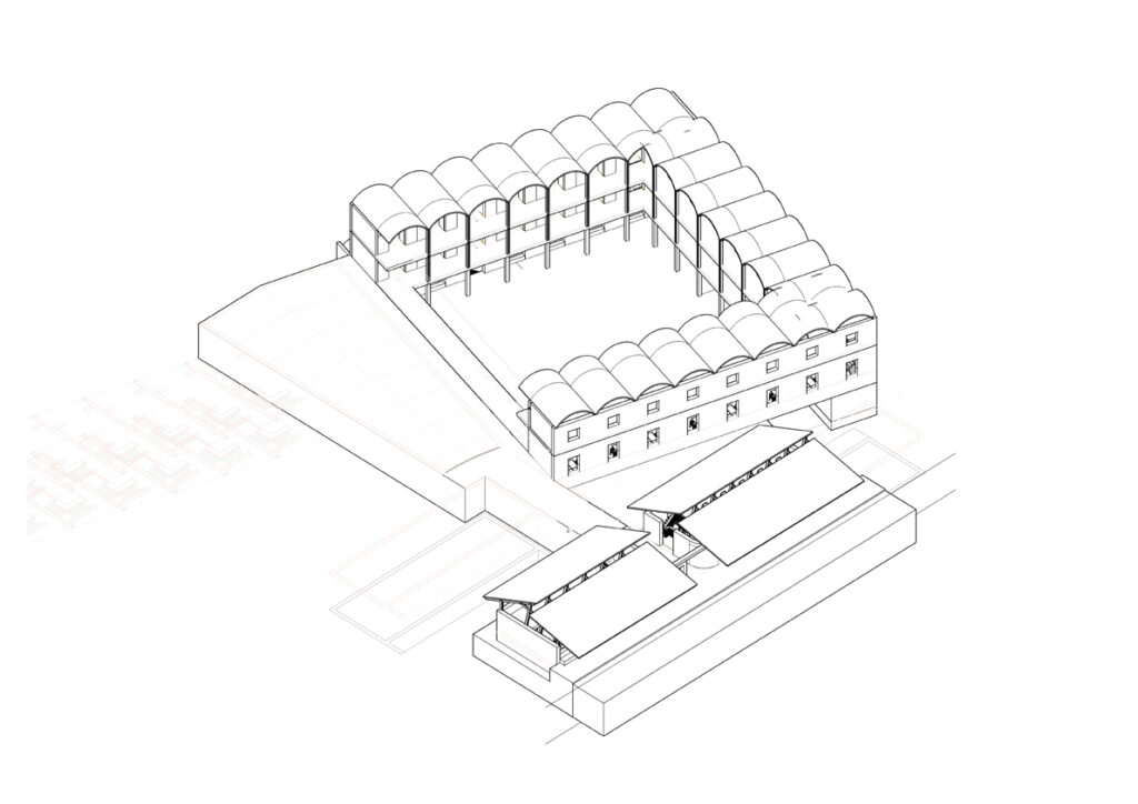 Drawing of Comfort Transformation Centre