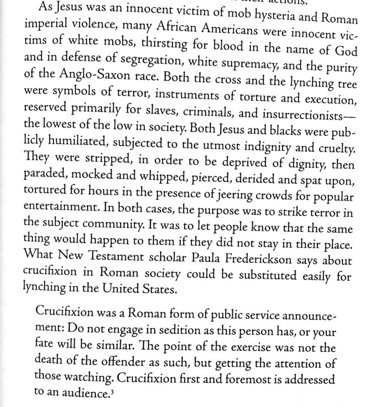 The Cross and the Lynching Tree 1