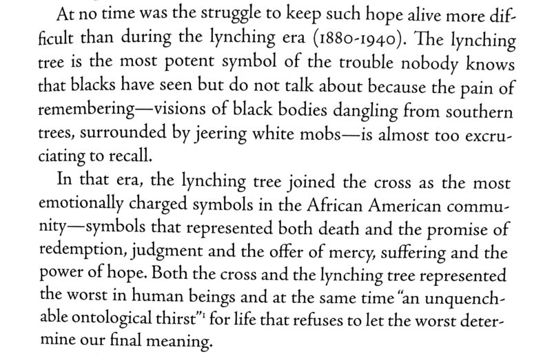 The Cross and the Lynching Tree 5