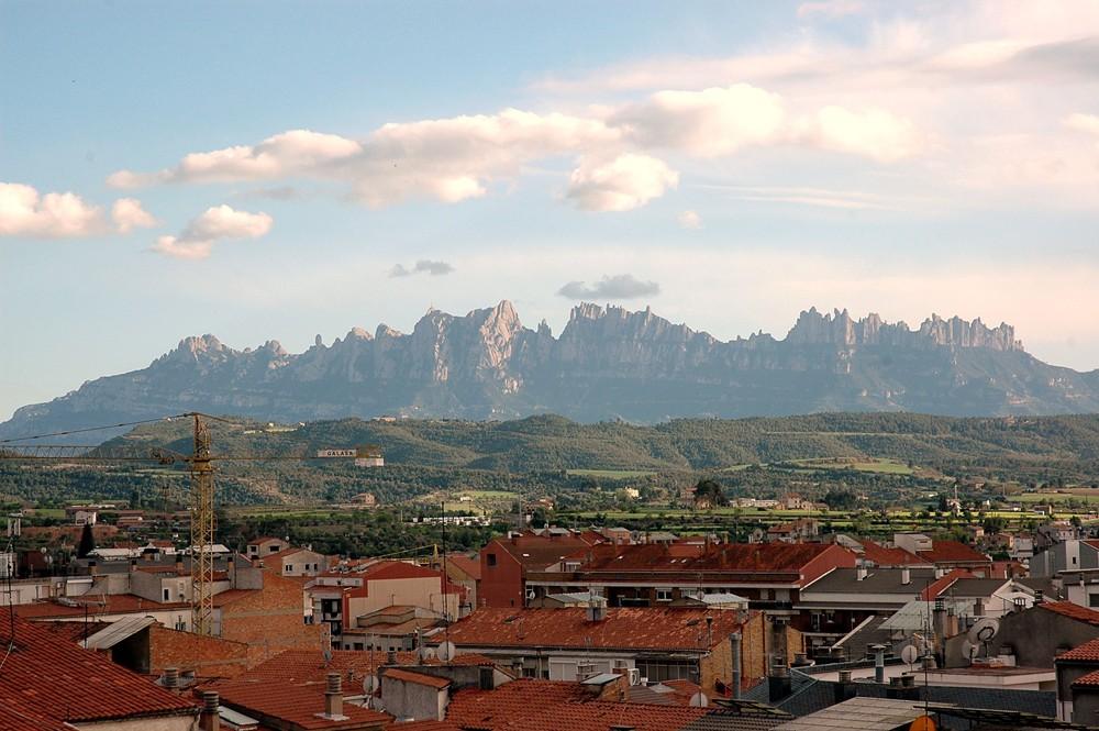 Montserrat Mountains - landscape picture