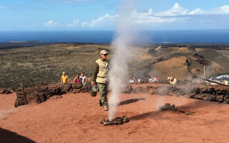 Lanzarote Volcano Shoot