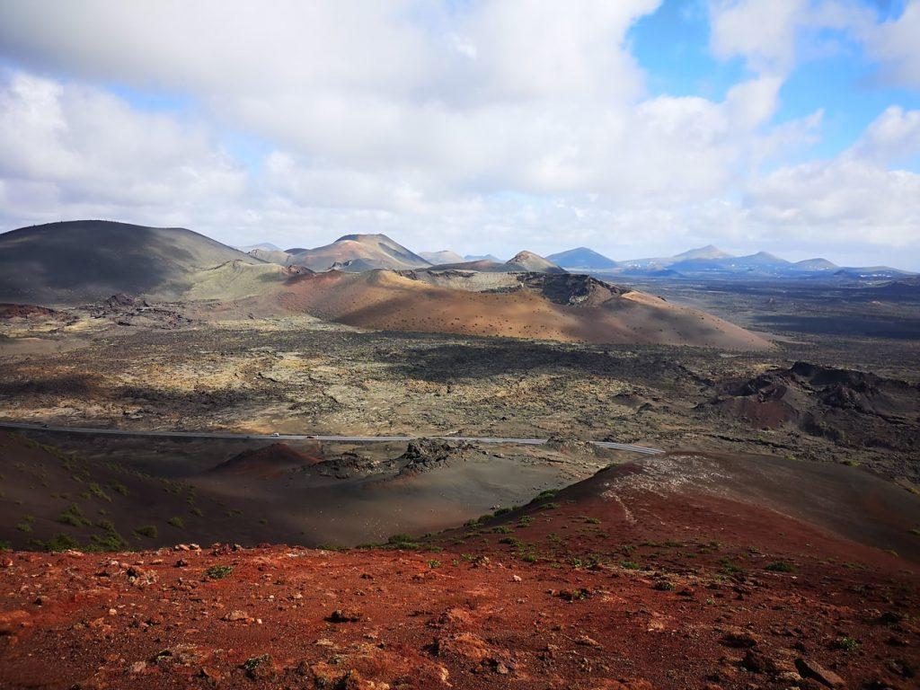 Volcanic Terrain Lanzarote