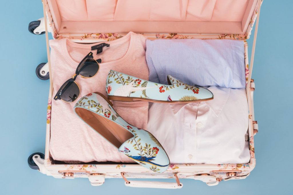 Clothing in suitcase - Essential Clothing Needed For Holidays
