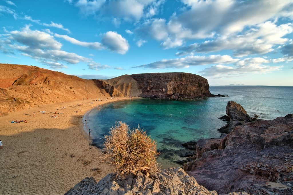 A Lanzarote Beach