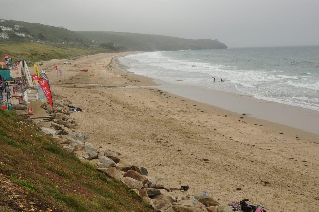 Praa Sands Beach in Cornwall