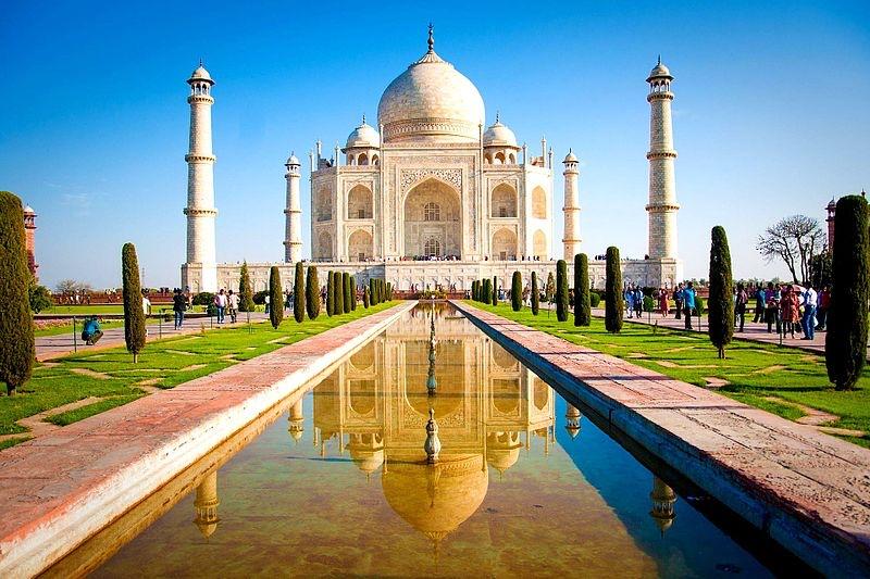 Taj Mahal in Asia
