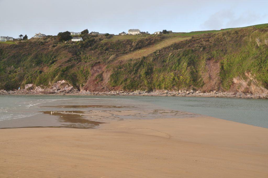 Bantham Beach in Devon