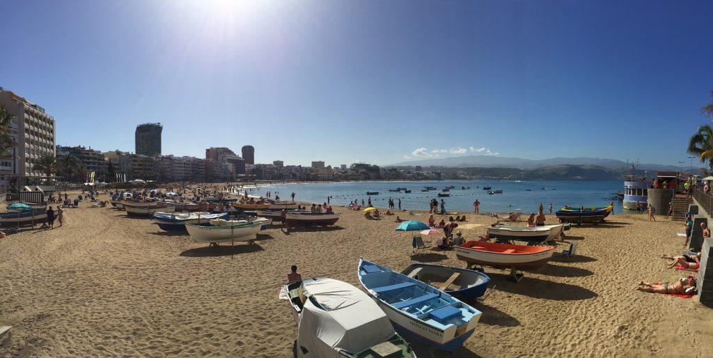 Gran Canaria beach front