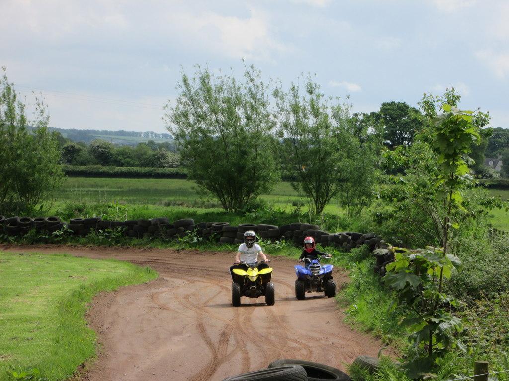 Mabie Farm Park - Quad Bikes