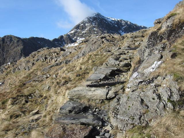 Pyg Track up Mount Snowdon