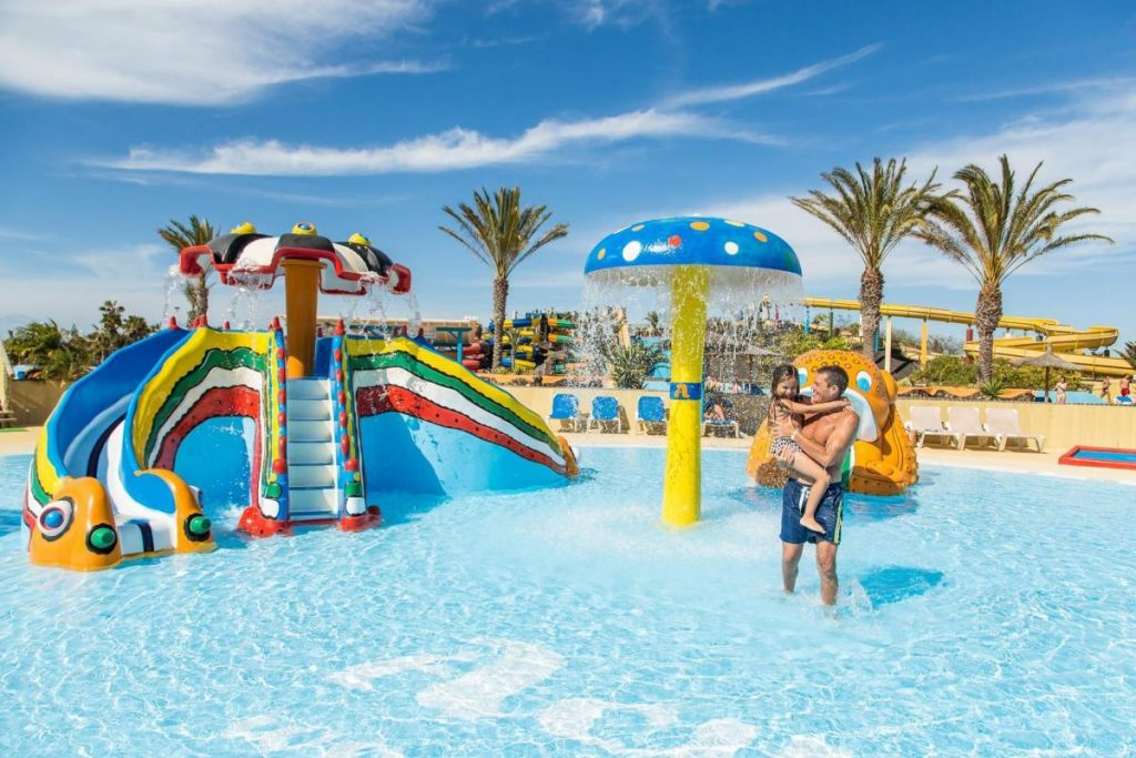 Acua Water Park Fuerteventura - Young Water Play Area for Children