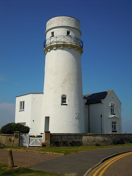 The old Lighthouse in Hunstanton