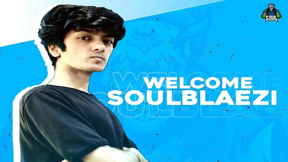 PUBG Mobile: Team SOUL's new member – SoulBlaezi