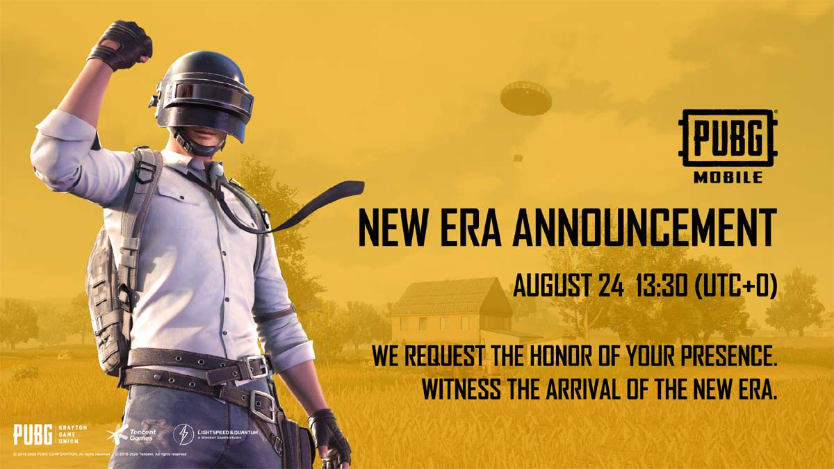PUBG Mobile: New Era Announcement On August 24, May Bring Erangel 2.0
