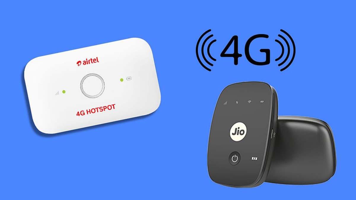 4 Best Hotspot device under Rs. 5000