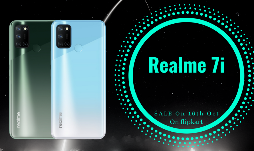 Realme 7i: Launched in India(Price, Specs)