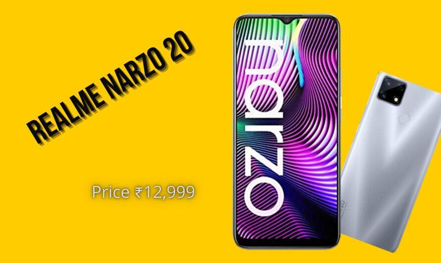 Realme narzo 20: Price, Specifications