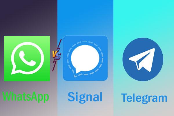 Signal Or Telegram: Best WhatsApp alternative