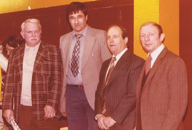 Roger Delaporte, Fausto Costantino, Jean capelle et Charly Bollet