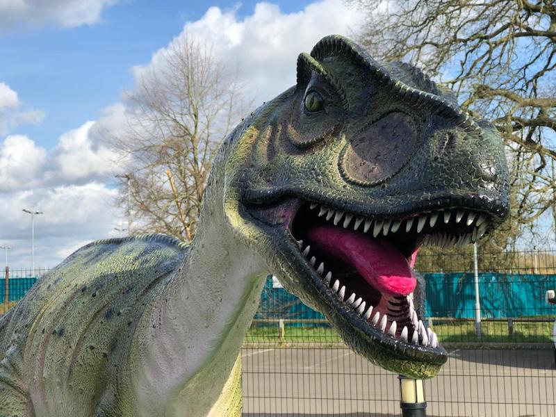Dinosaur Themed Crazy Golf Maidenhead Berkshire
