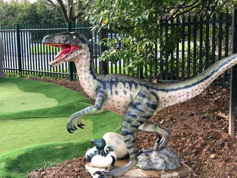 Maidenhead Mini-Golf Dinosaur fun for the entire family