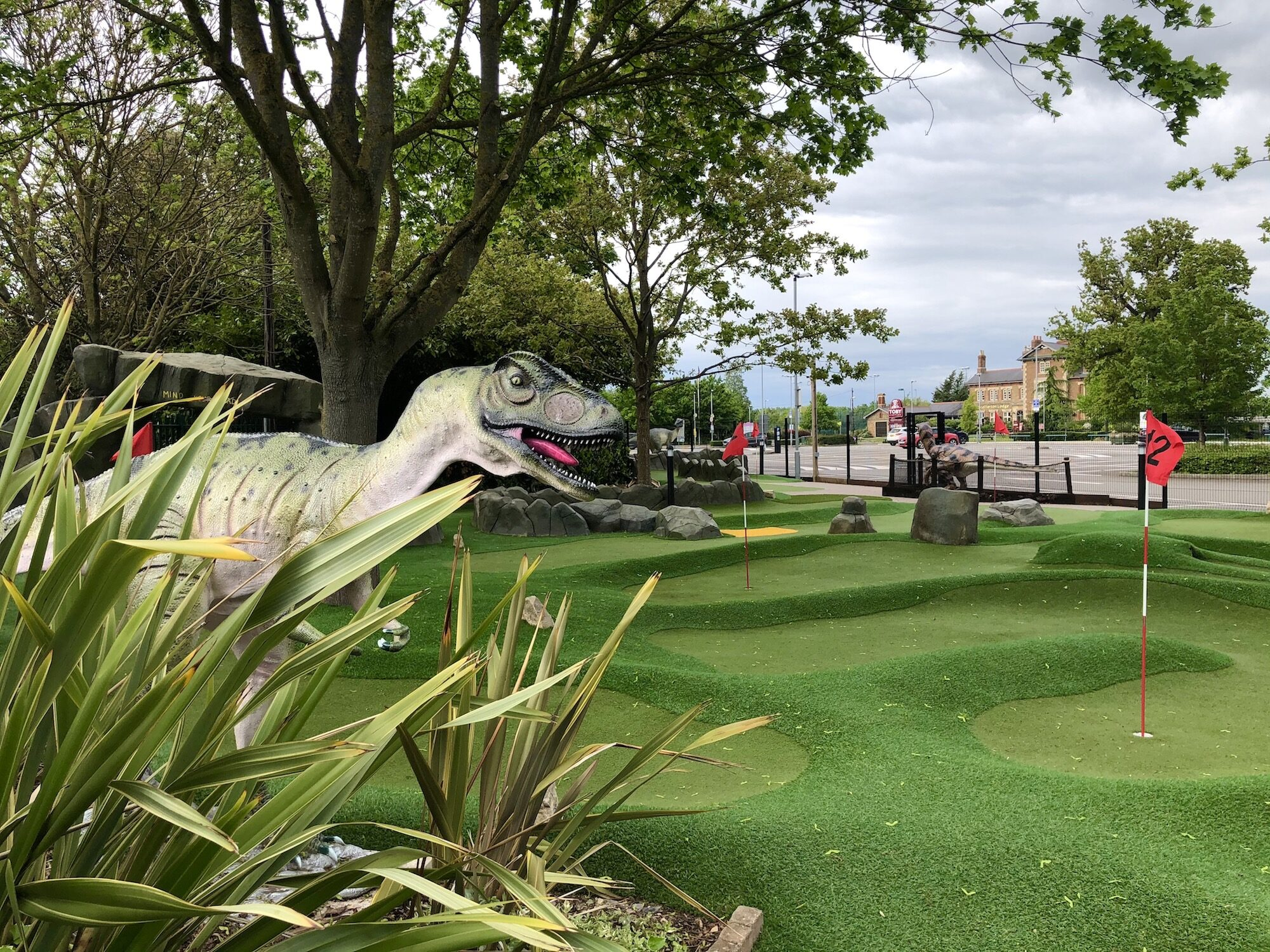 Maidenhead Mini-Golf Dinosaur fun for the entire family