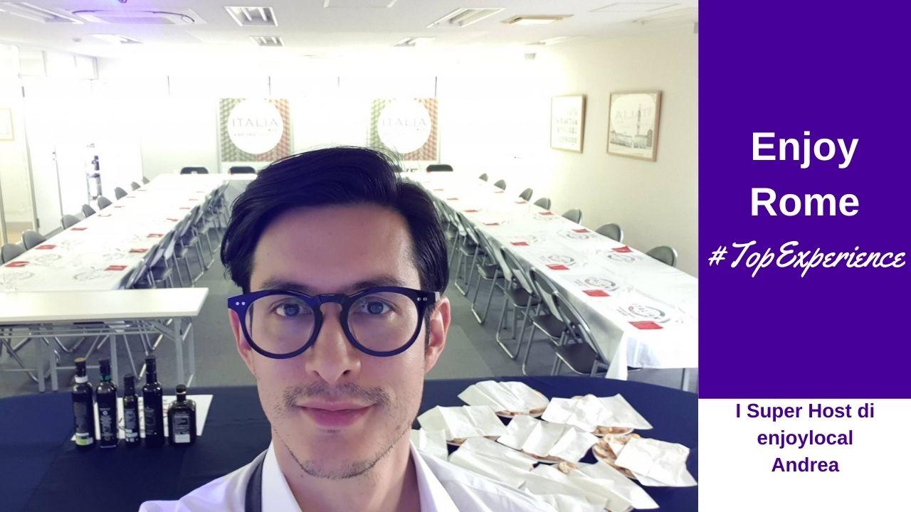 Andrea Cocco Hirai e la sua passione per la cucina