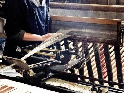 Laboratorio di tessitura