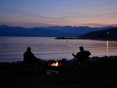 Pesca all'alba