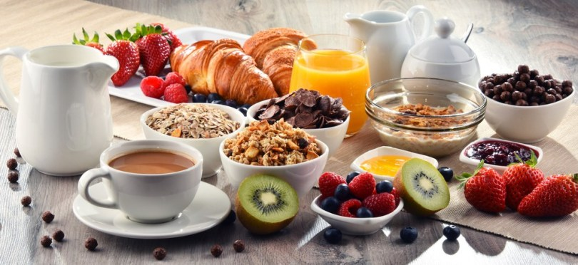 WHAT IS THE FRENCH BREAKFAST MADE OF ?