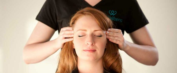 Indian Head - Office Workplace Temples Massage Front