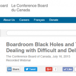 conference board canada