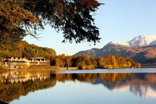 Venue lodge on loch lomond
