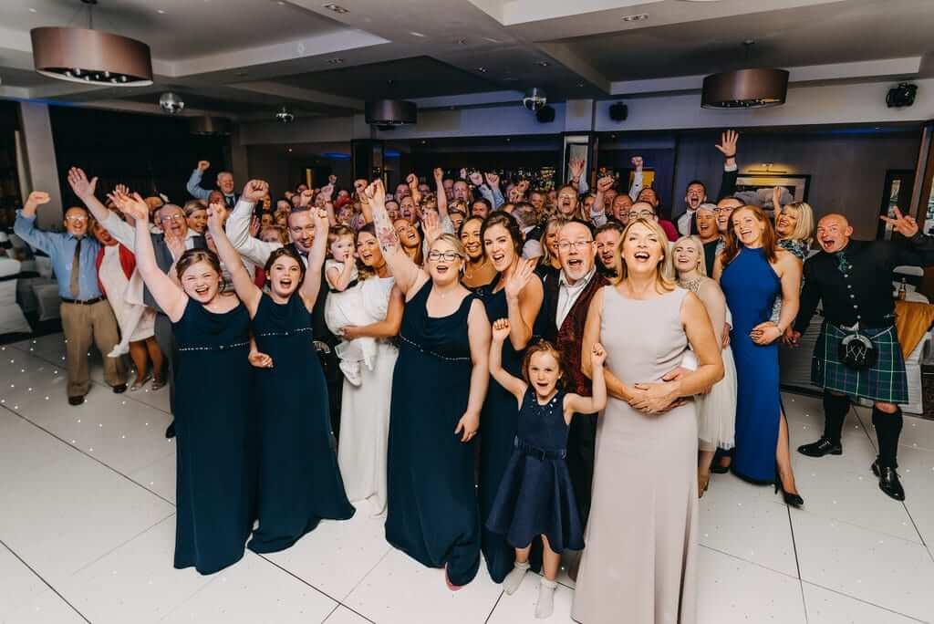 Wedding DJ Ayrshire Lochside Hotel