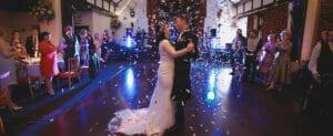 brig o doon wedding confetti cannon dance steph jonny