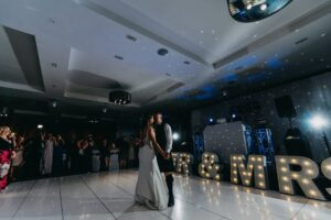 Wedding DJ Ayrshire first dance