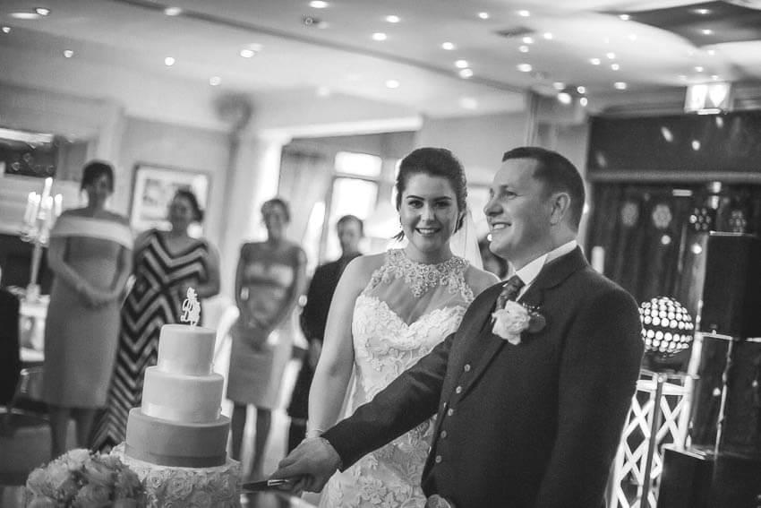 Glasgow wedding photographer wester house hotel wedding ayr 110 1