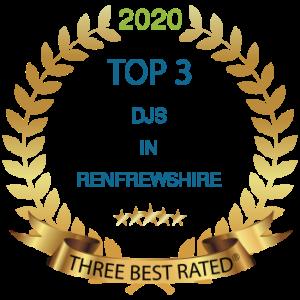 top 3 dis in Renfrewshire