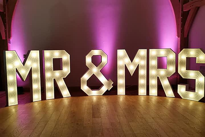 Mr & Mrs Letters Glasgow