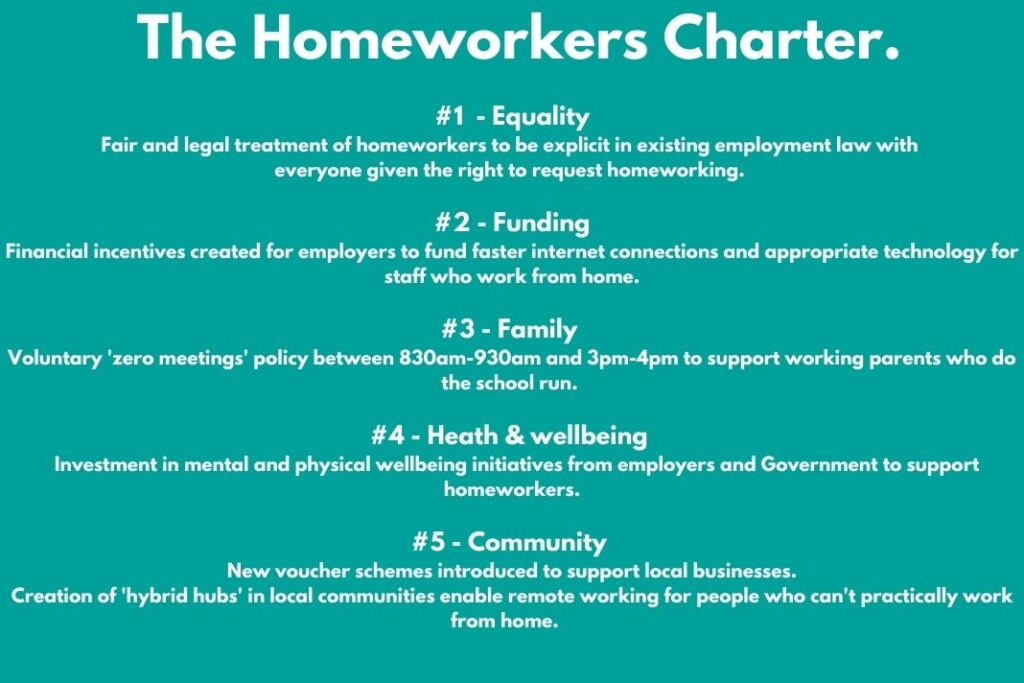 Homeworkers Union - our charter.