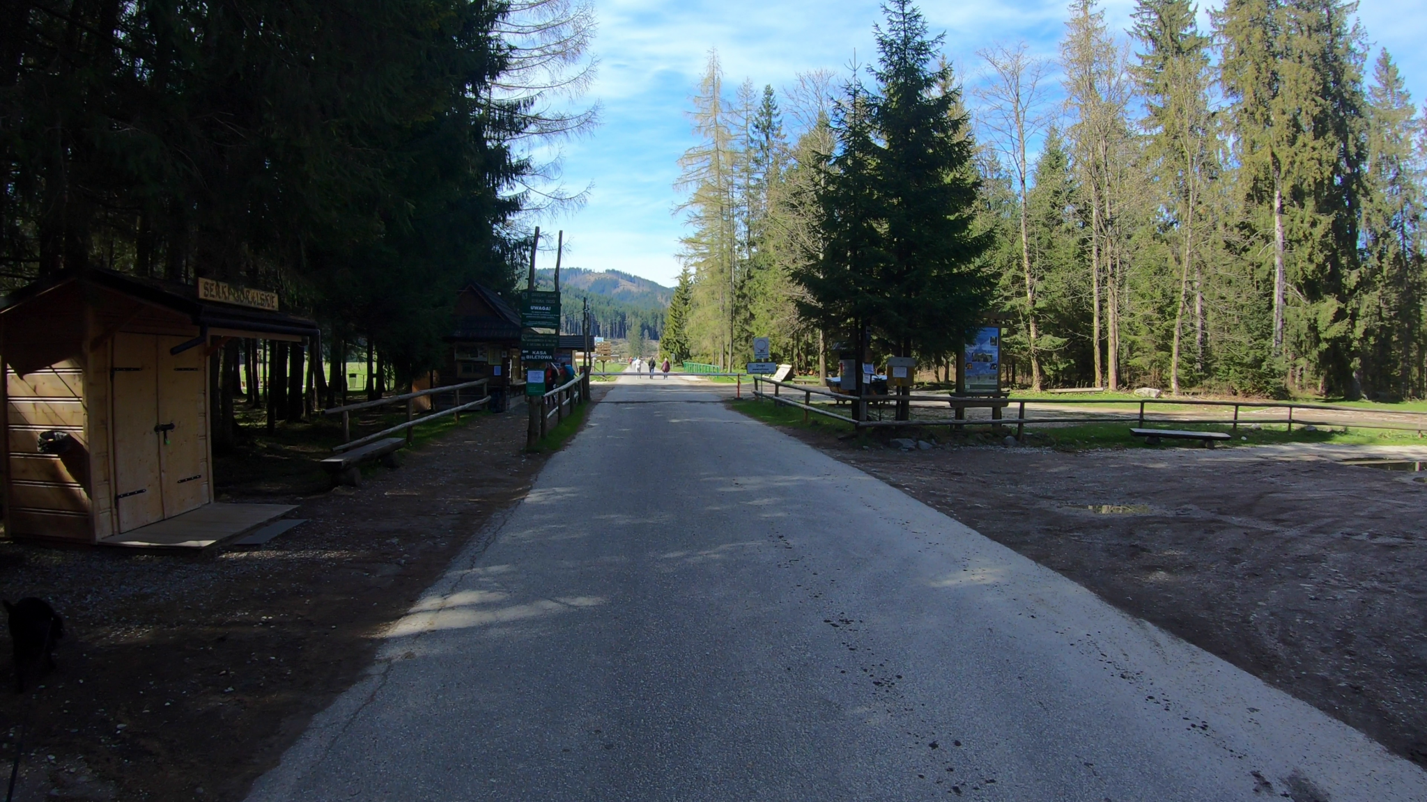 Chocholowska valley enterance